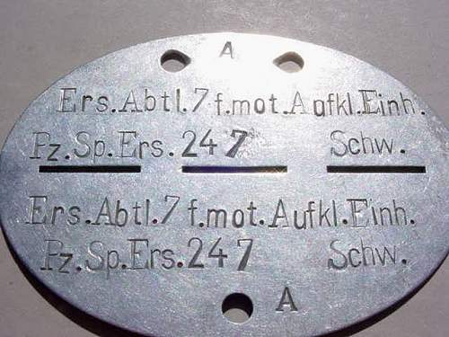 Help to identify German DogTag