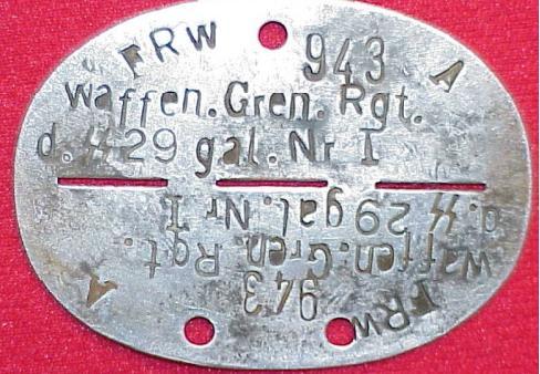 Dog Tag - Galicien division
