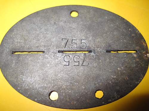 SS Dogtag