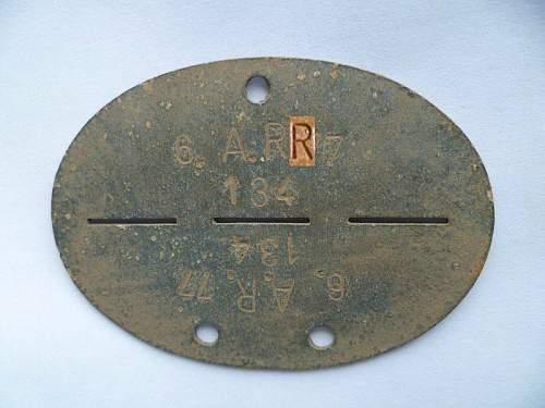 Please help identify 2 Erkennungsmarken - ID disks.