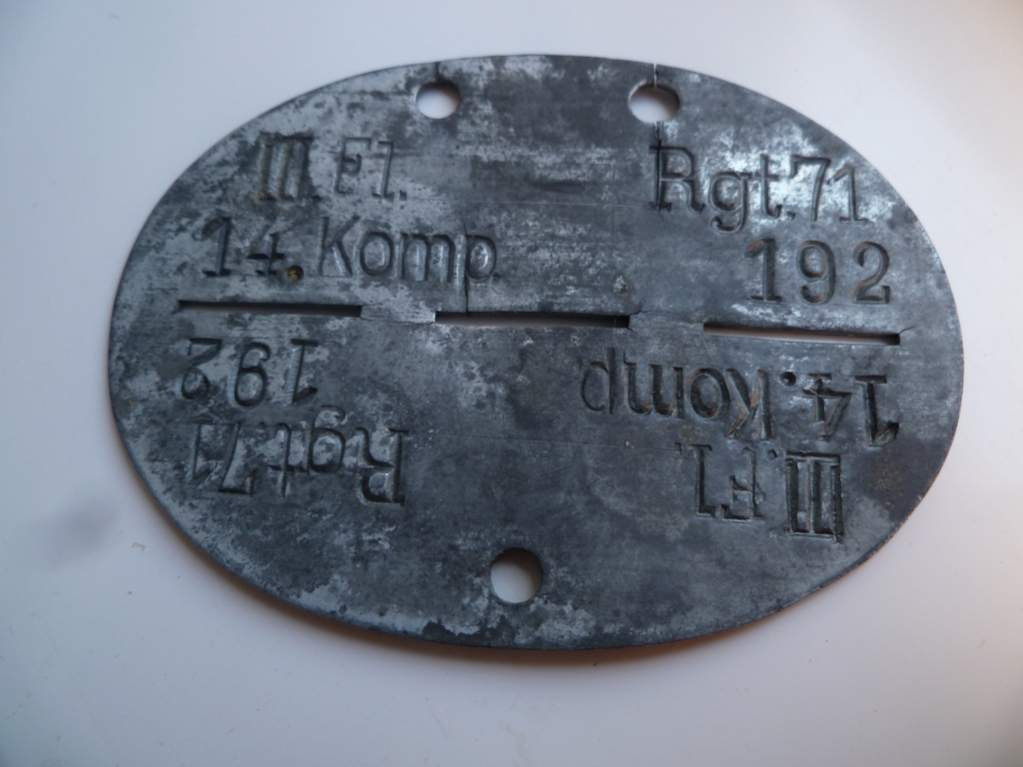 Help In Identifying Wwii German Dog Tags Page 4