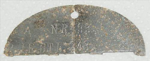 German dogtag - What a coincidence !