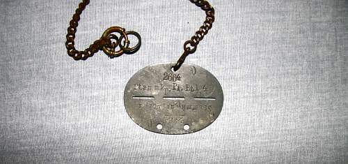 Dog Tag-Looking for any information