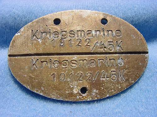 Early Kriegsmarine Disc