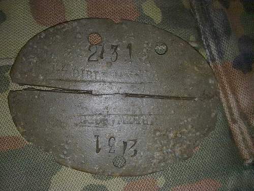 Help with SS Dirlewanger WWII dogtag, please