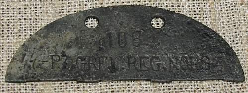 SS PZ GREN REG NORGE disc