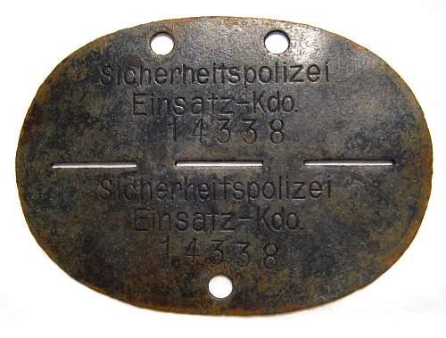 Sicherheitspolizei Einsatz-Kdo. 14377
