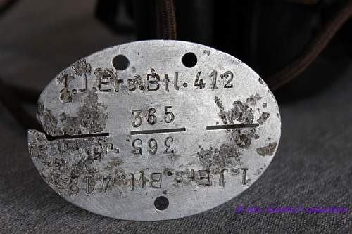 Relic Dog Tag from the Auwere - Narva