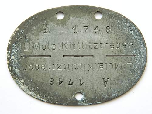 Identification of this ID disc