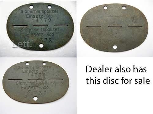 Need help with SD ID DISC