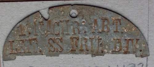 Original SS dog tags?
