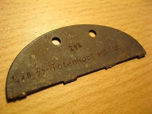 1 Kompanie Totenkopf Inf. Regt 8.