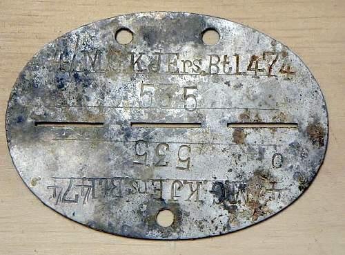 Original WWII German dog tags?