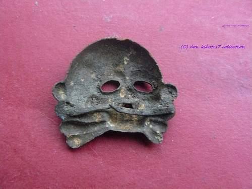 Totenkopf ERK with Panzer Skull