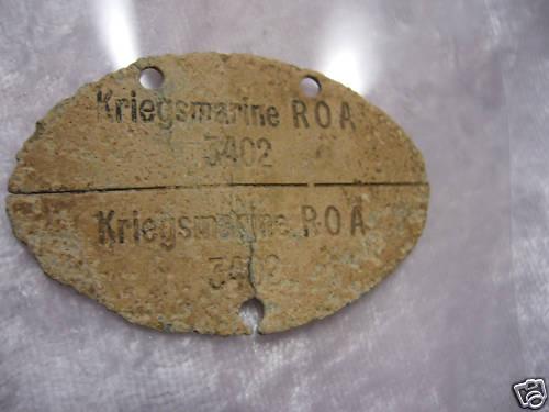 My Kriegsmarine tag's:)