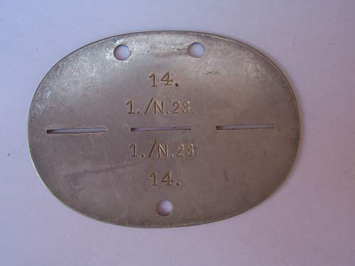 Dog Tag information please
