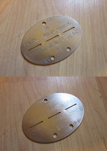 Luftwaffe and Kriegsmarine Tags - Assuming fake?