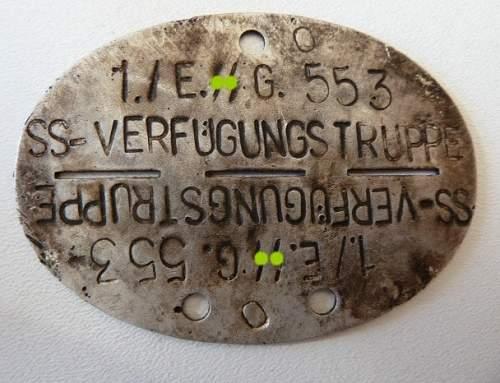 SS dog tags - Real?