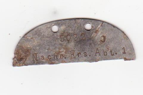 German dogtag - info needed
