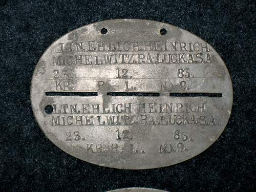 U.S. POW Bad Orb disc bring-back identification