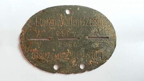 Big collection of rare SS dog tags - original or fake?
