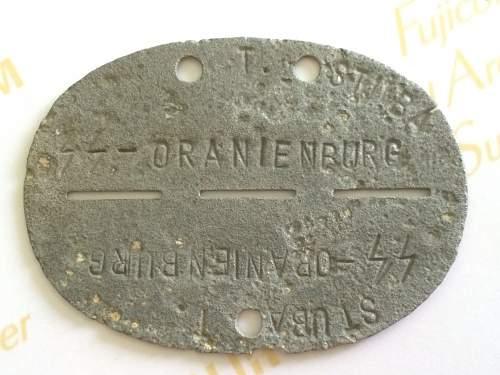 SS Oranienburg ID