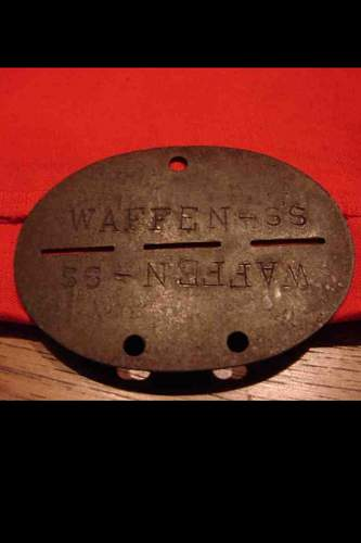 Waffen SS Dog Tags Real or Fake??