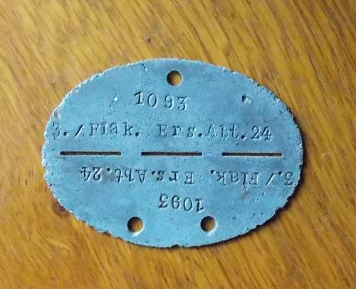 Another German dog tag