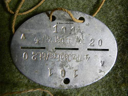 NORD SS dogtag