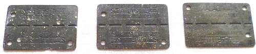 POW ID Dog Tags for your comments please