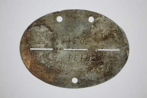 Two Estonian SS dog tags - Original/Fake?