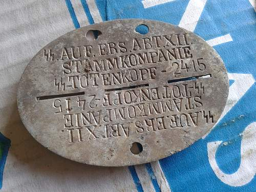 Some SS and other dog tags - ask for help