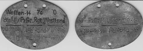 Erkennungsmarken Made After WW2- Fakes