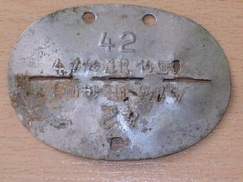 1/14 SS-T.J.R dog tag - Original/Fake (need opinions/info for very important case) - discussion for ALL