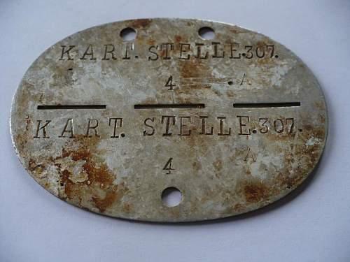 Dog Tag Warschau need help with id of this item,