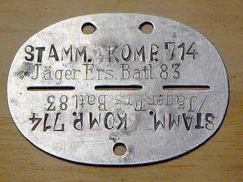 Click image for larger version.  Name:STAMM KOMP Jäger Ers Batl 83.JPG Views:60 Size:80.4 KB ID:87907