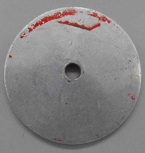 Red Gestapo Disk 100% original