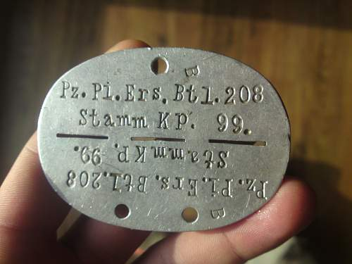 can You identificate the german dog tag?