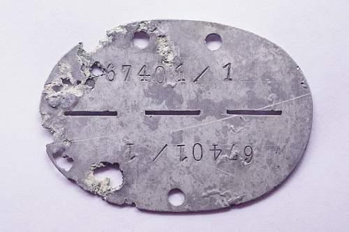 erkennungsmarke Luftwaffe only code