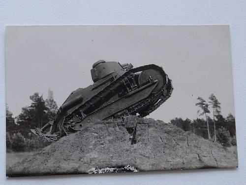 Tank Mark V .