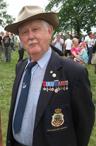 Estonian ss badge