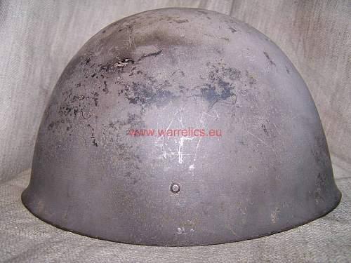 Rare Estonian helmet M40