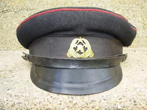 Estonian Firefighters Visor Cap