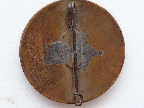 Old fire medal.
