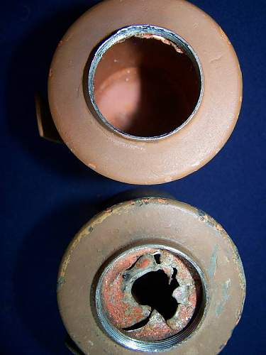 Estonian Stick grenade- Eesti kaigas