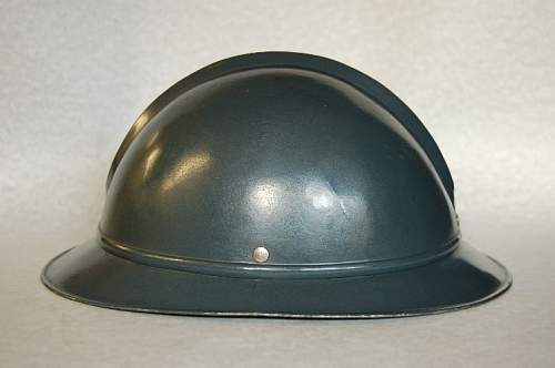 "First Estonian M27 ""Neumann"" helmet"