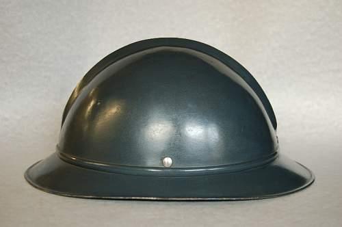 """First Estonian M27 """"Neumann"""" helmet"""