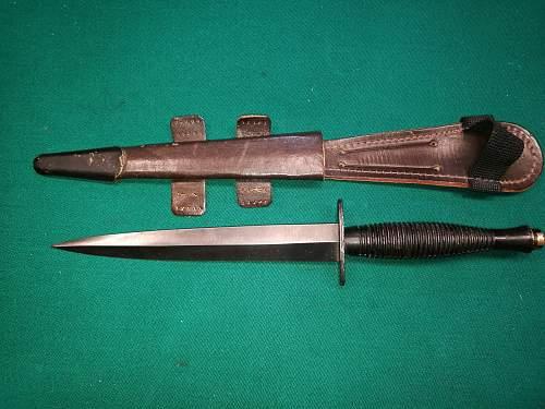 is it post-war F-S knife?