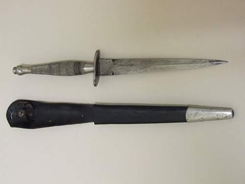 1st pattern FS knife