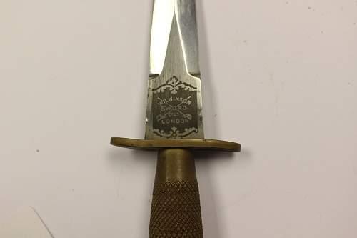 1st pattern F-S knife